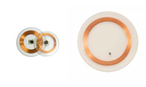 Clear Disc Tag - HF PET Tag